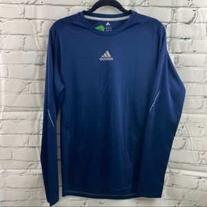 Adidas running climalite men's long sleeve shirt